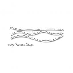 Die-namics Stanzform Stitched Snow Drifts MFT-546