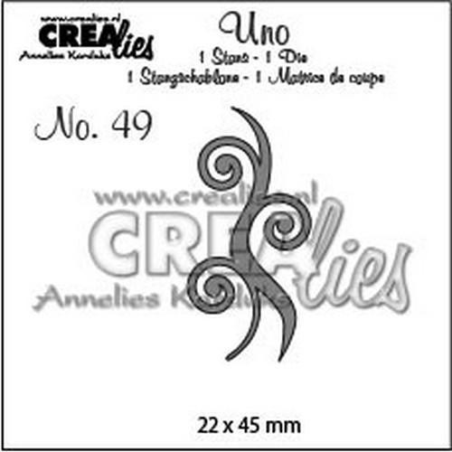 Crealies Stanzform Dampf Nr. 49 CLUno49