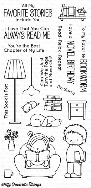 My Favorite Things Clear Stamps Our Story BB-41
