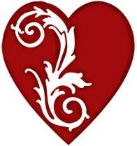 Herz victorian / victorian heart 0964