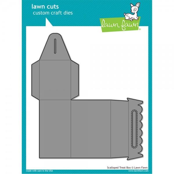 Lawn Fawn Stanzform Scalloped Treat Box LF1232