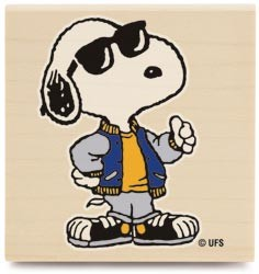 Stempel Snoopy cool mit Sonnenbrille 1078