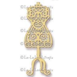 La-La Land Crafts Stanzform Ankleide Puppe / dress form 8002