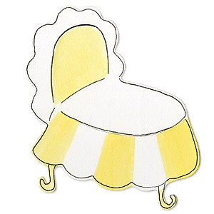 Sizzix Stanzform BIGZ Kinderbettchen / bassinet 655439