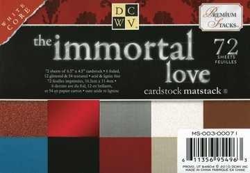 Papierblock Immortal Love 11,4 x 16,5 cm MS-003-00071