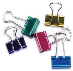 Mini Binder Clips sortiert 1,3 cm ( 12 Stück farblich sortiert )