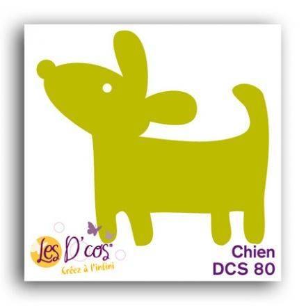 Toga Stanzform Hund / Chien DCS80