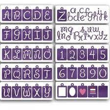 Cuttlebug Alphabet Fancy Pants 115639/6013 ( 37-1055 )