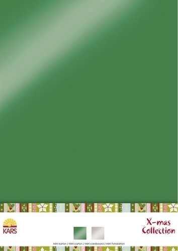 Spiegelkarton X-mas Collection A 4 980003/0016 (grün / silber )