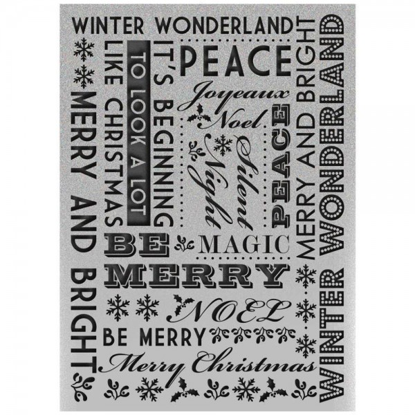 Ultimate Crafts Prägefolder Winter Wonderland ULT158301