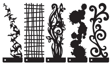 Prima Marketing Stencils / Schablonen Patterns 655350-2010-06