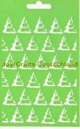 Joy!Crafts Prägeschablone Plastik Weihnachtsbäume 6002-0611 ( he