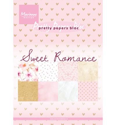 Marianne D Papierblock SWEET ROMANCE 14,7 cm x 21 cm PK9153