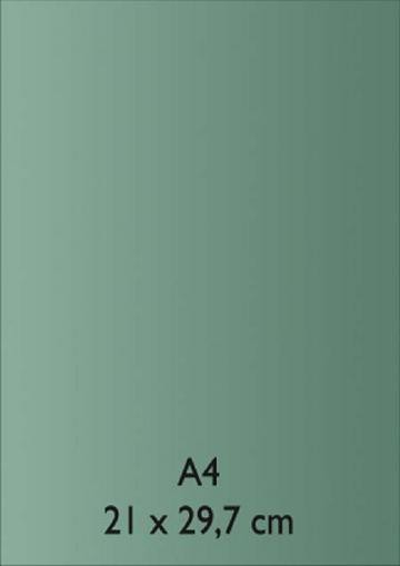 Pearl Papier A 4 TÜRKIS mit Klebefolie