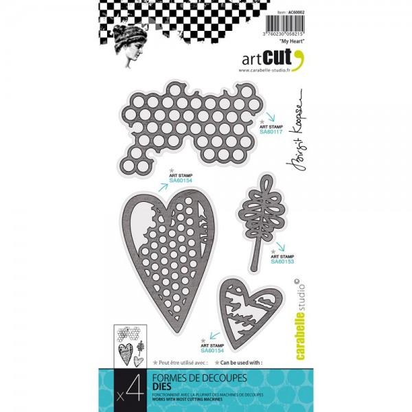 Carabelle Studio Stanzform Herzen / My Heart AC60002
