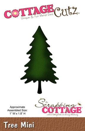 CottageCutz Baum mini / tree mini SC CC-Mini-095