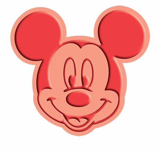 Cuttlebug Stanzform u. Prägefolder MEDIUM Mickey Mouse Stanz-u. Prägeform 37-1713