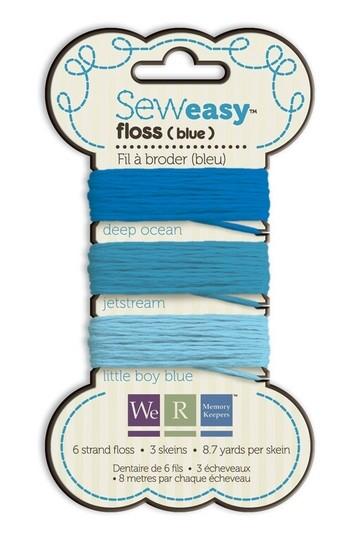 Sew Easy Faden-Sortiment BLAU 71066-0