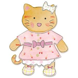 Sizzix Stanzform BIGZ Tierkörper Katze / animal dress ups kitty 655442