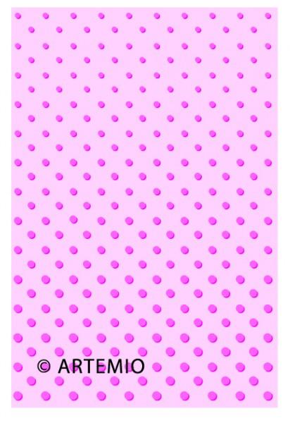 Artemio Happycut Metall-Prägeschablone 10 x 15 cm Punkte 18040006