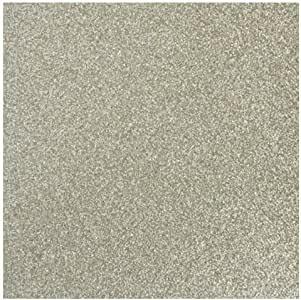 Scrapbook-Papier Glitter SILBER-IRISIEREND 30,5x30,5 cm 79-668-6