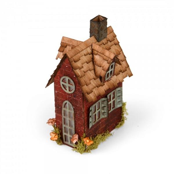 Sizzix BIGZ XL Stanzform Haus / Village Brownstone 661205
