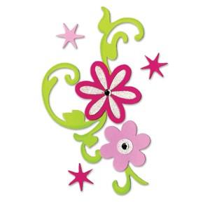 Sizzix Stanzform BIGZ Hello Kitty Blumenstrauß / flower bouquet 655797
