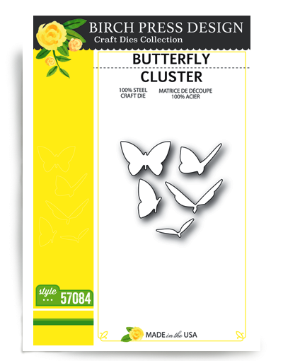 Birch Press Design Stanzform Schmetterlinge / Butterfly Cluster 57084