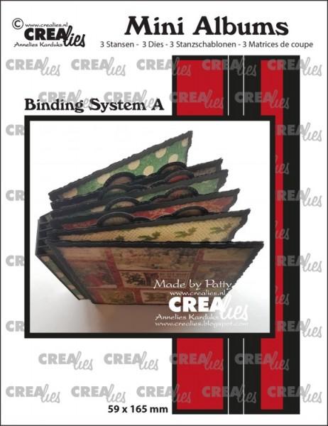 Crealies Mini Albums Binding System A CLMA01