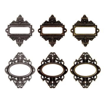 Tim Holtz Ornate Plates Kartenhalter / Metall Tim Holtz TH92787