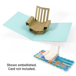 Sizzix Stanzform BIGZ XL Stuhl - 3 - D / chair beach 3 - D 656027
