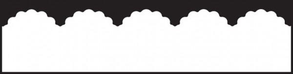 EK Success Slim-Borderstanzer scalloped scallop EKPL8003 / 1762003