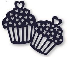 Die-Namites Stanzform Muffins/Delightful Cupcakes DN-1137