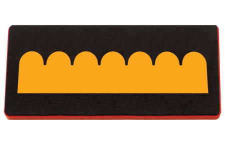 Allstar extra long Border gewellt / border scallop A 10765