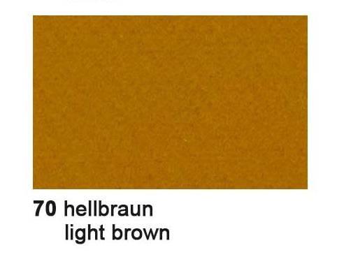 Filz 3,3 mm HELL - BRAUN 2000 00 70