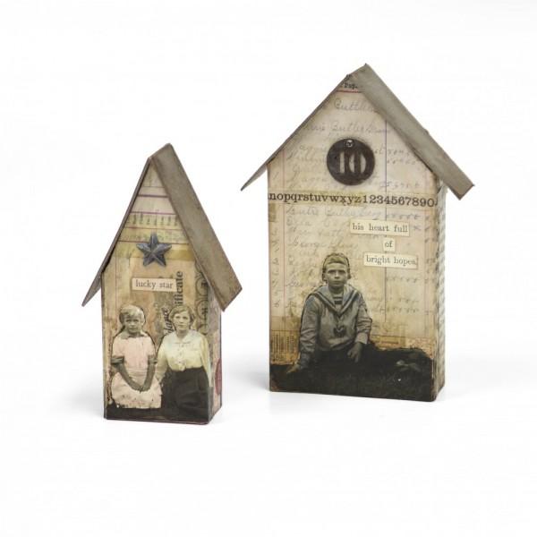 Sizzix BIGZ L Stanzform Häuser / Tiny Houses 661819