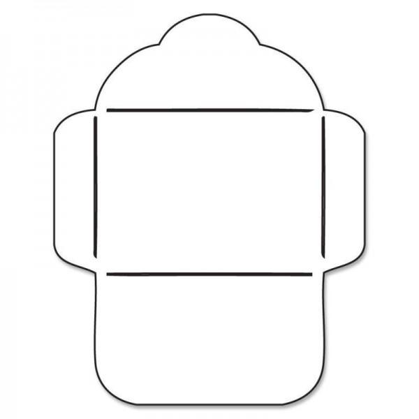 Savvystamps Stanzform Umschlag 4,5 xm x 3,2 cm / Envelope 10106