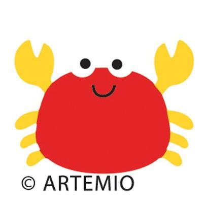 Artemio Happycut Stanzform 5,2 x 5,2 cm Krabbe / crab 18020019