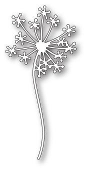 Poppystamps Stanzform Pusteblume / Dandelion Stem 1809