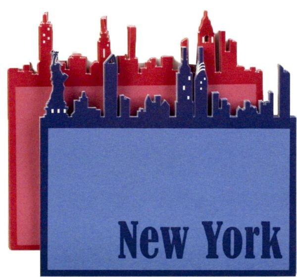 Little B Notepad Skyline New York 100110