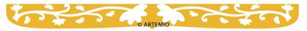 ARTEMIO Happycut Stanzform Border Lace # 30 18024003