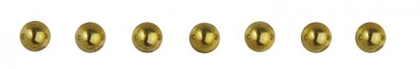 Plastik-Halbperlen selbstklebend 2 mm GOLD 15-106-06