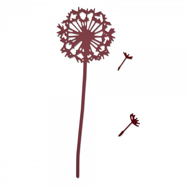 Sizzix Thinlits Stanzform Pusteblume / Make A Wish 661376