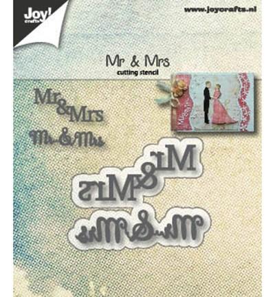 Joycrafts Stanzform Mr. & Mrs. 6002/1265
