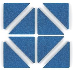 Crop-A-Dile III Buchecken Blue Shimmer 41402-5