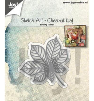 Joycrafts Stanzform Kastanienblatt / Sketch Art - Chestnut Leaf 6002/1354