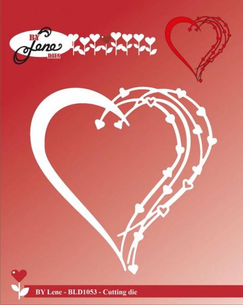 Lene Stanzform Herz / Love Heart BLD1053