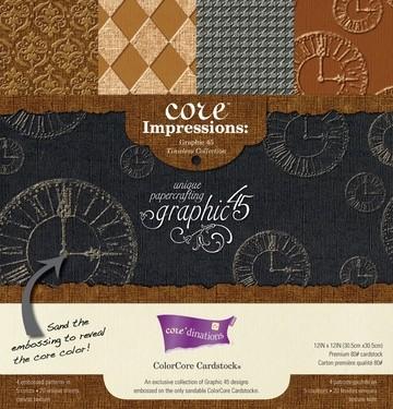Papierblock Core Impressions Graphic 45 30,5x30,5 cm GX-CI-G45