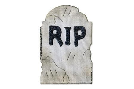 Sizzix Stanzform Originals MEDIUM Grabstein / tombstone 656748