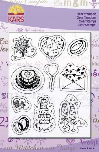 Clear Stamps Hochzeit / marriage